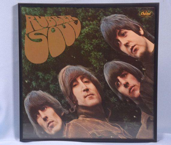 Beatles Rubber Soul Beatles LP Album. Capitol Find more great musical items, Click on link below! https://www.etsy.com/shop/VintageByDuran?section_id=20609870