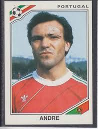 Image result for mexico 86 panini portugal andre