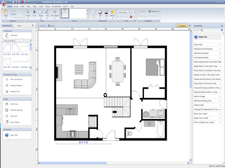 Home Design, How To Make A Amazing Cool Floor Plan With The Details With  Your