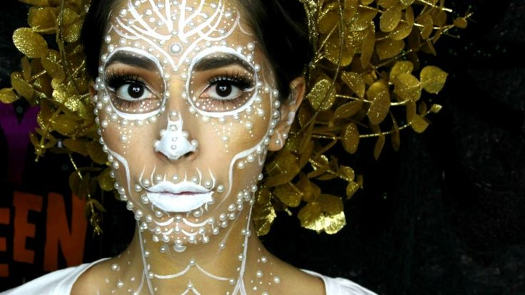 Pearl Day of the Dead Makeup Tutorial