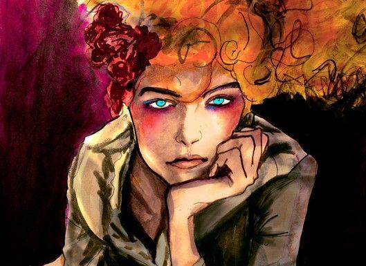 donna karan sketches   Fall's Hot Fashion Illustration Blog - People - Eye - WWD.com