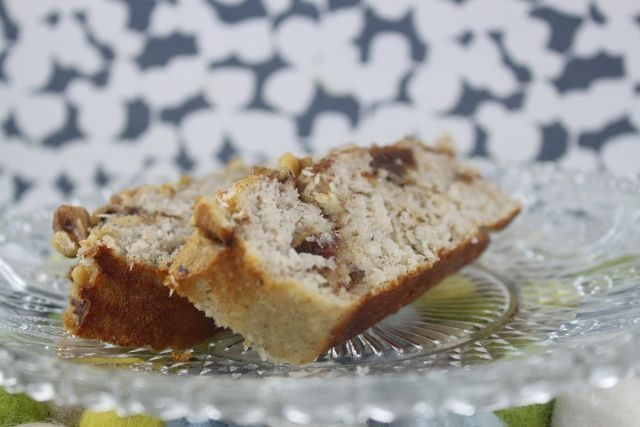 Quick and Easy Date and Coconut Loaf. Paleo, clean eating and gluten free.