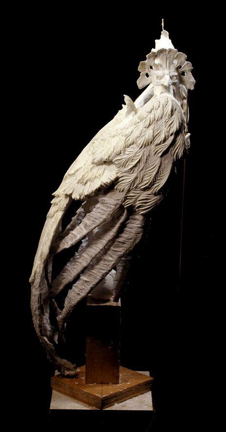 Venetian Harpy, in progress | Venetian