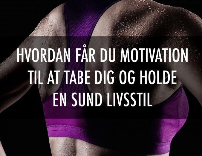 motivation vægttab