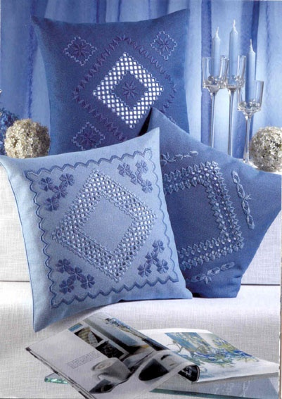 Hardanger Embroidery // VERY difficult. High skill level, and always treasured, rarely used (unfortunately). Some find smaller sized ones and frame them w/clear glass -- & hang in window -- like snowflakes, almost.