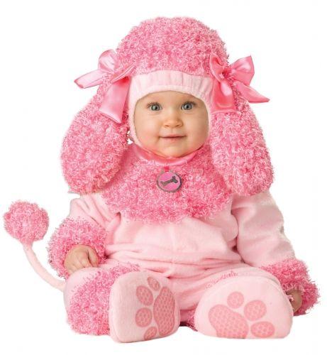 Костюм праздничный для малыша Розовый Пудель