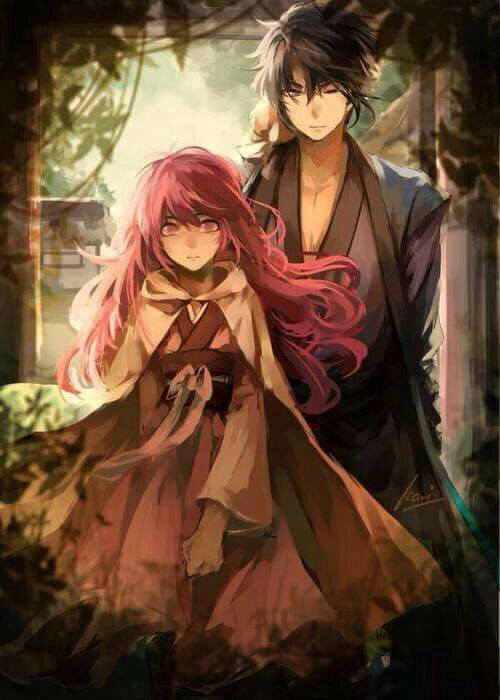Hak and Yona....Akatsuki no Yona...One of the best shows I've ever seen. IF Hak and Yona do end up together on season 2, this could be my number 1 anime by far. If they don't, I be heart broken and mad at the producers...
