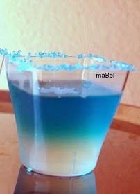 Pasteles de colores: Gelatina transparente en degrade - Hielo - Frozen
