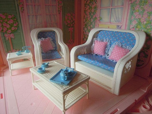 mattel 1983 barbie fashion living room set flickr