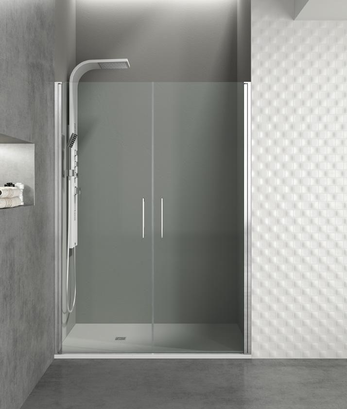 Mampara de ducha modelo open 2 puertas del fabricante gme for Puertas de ducha