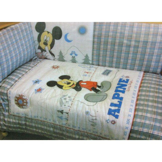 Trapunta Disney Topolino Mickey Alpine invernale lettino culla. #topolino #disney