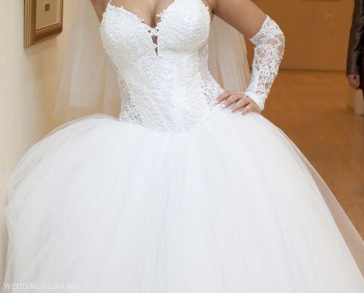 Фото свадебных платьев пышная юбка