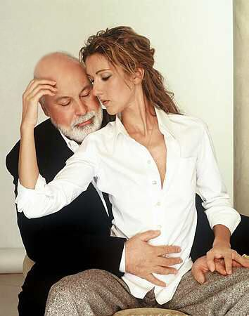 Céline Dion et René Angélil ☝️2000