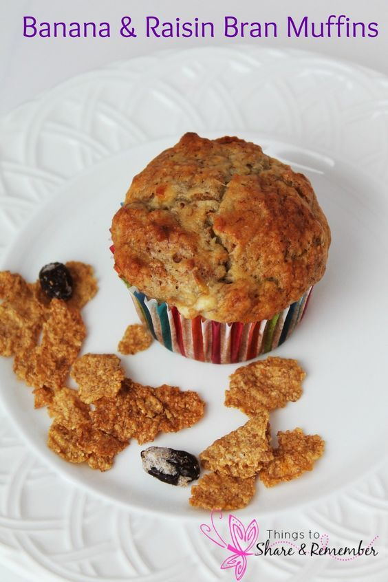 BANANA RAISIN BRAN MUFFINS Recipe - Powered by @ultimaterecipe