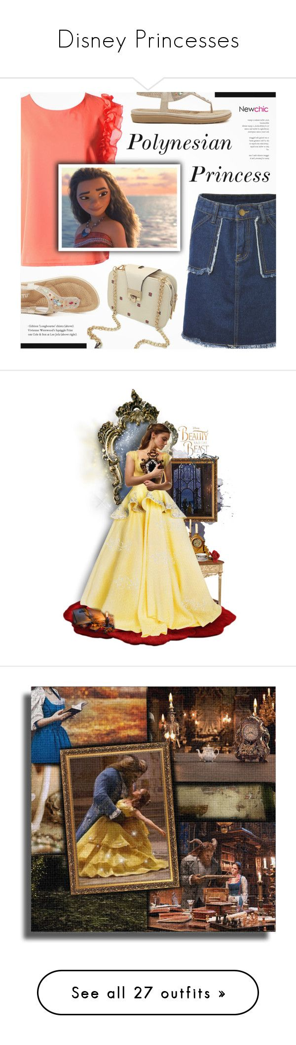 """Disney Princesses"" by lizabeth-rose ❤ liked on Polyvore featuring Disney, art, swimwear, one-piece swimsuits, black, flounce swimsuit, bandeau swim suit, polka dot one-piece swimsuits, swimming costume and ruffle swimsuit"