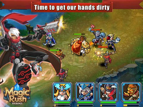 Magic Rush: Heroes - Assemble your league of Heroes and charge into war! Magic Rush: Heroes has epic head-to-head battles that combine the best elements from RPG games, tower defense games and base building games. With an amazing single player campaign story, online PvP battles, multiple game modes and daily quests, there are tons of ways to lead your Heroes to victory! #backcountrynavigator #crittermapsoftware #androidappdeveloper #androidapps