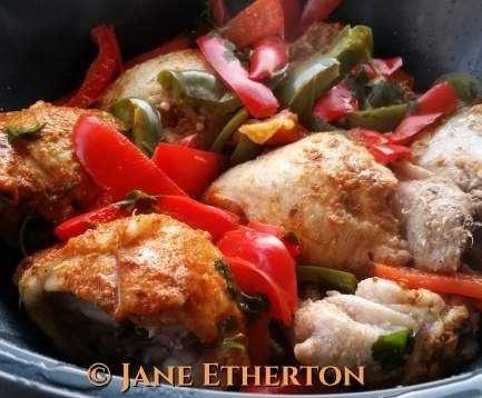 Recipe Mexican Chicken All-in-One Varoma Meal by Madame Thermomix - Recipe of category Main dishes - meat