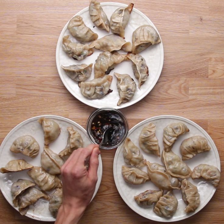 [Homemade Dumplings 3 Ways]. VID.