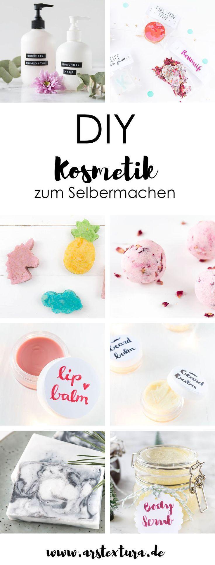 DIY-Kosmetik zum Selbermachen: DIY-Badebomben, DIY-Körperpeeling, …   – DIY – Geschenke