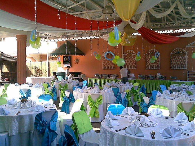 136 best images about wedding ideas on pinterest for Balloon decoration for christening party