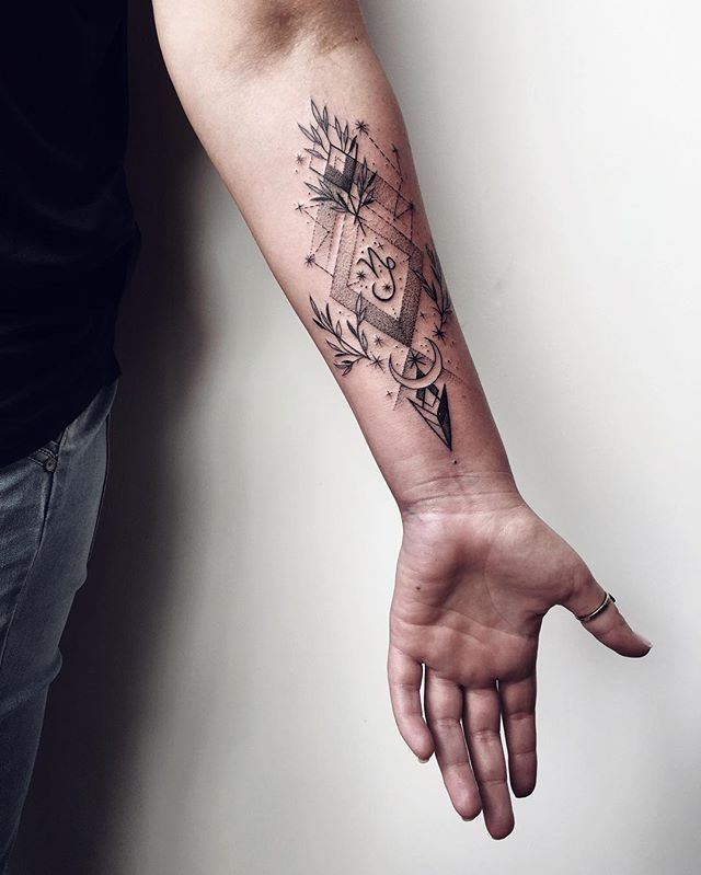 27 best capricorn and aquarius tattoos images on pinterest for Capricorn goat tattoo