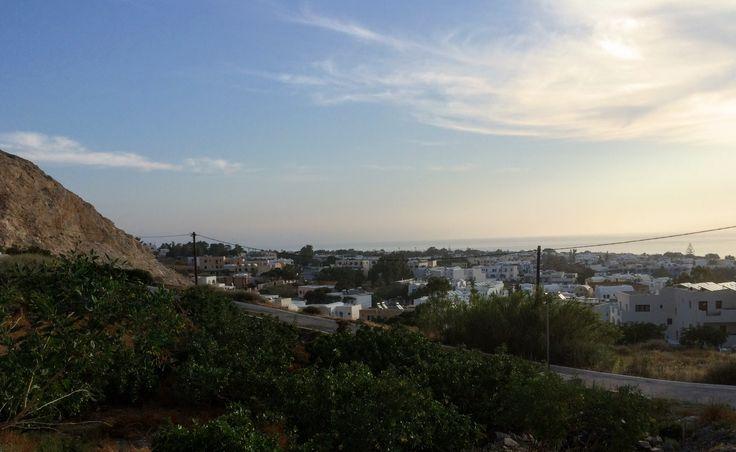Kamari, Santorini.