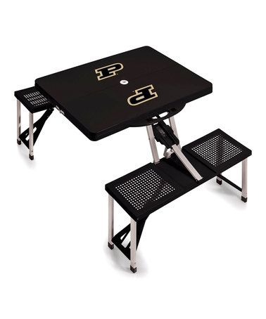 Look what I found on #zulily! Purdue Boilermakers Portable Picnic Table…