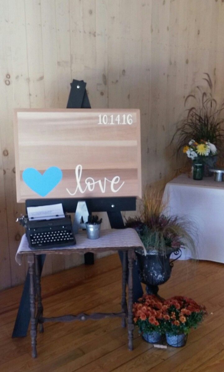 What an incredible idea for a guestbook! Also, Katie Clark from This Delightful design handmade(!!!) this sign  #thisdelightfuldesign