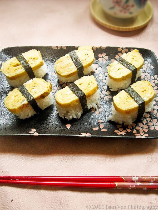 Tamago (Egg) Nigiri Sushi Recipe! Sweet ones are yummy