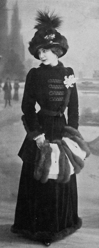 All sizes | Robe d'apres-midi 1910 | Flickr - Photo Sharing!