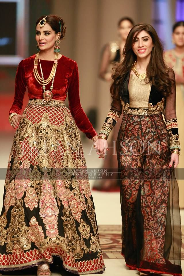 Bridal couture week 2014. Hina butt.