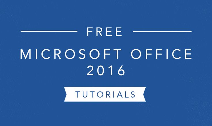 Recently upgraded to Office 2016? We can help you navigate Microsoft's latest version of Word, Excel, PowerPoint, and Access. #Office2016