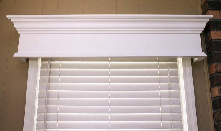 MantelCraft - Pleasanton Custom Wood Window Cornice, $142.86 (http://www.mantelcraft.com/window-cornices/pleasanton-custom-wood-window-cornice/)