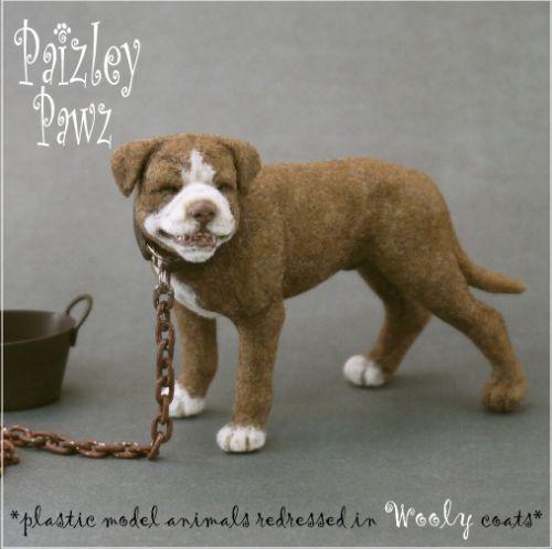 Dollhouse Miniature Junkyard Dog