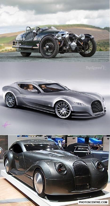 Morgan Autos – 8 FOTOS! # Autos # Fotos #Morgan  – exotische auto's – #Autos #ex…