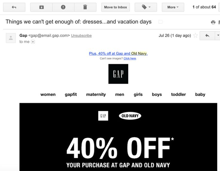 social media savings - Get on the email lists of your favorite stores and brands. Many places regularly send out special deals or coupons to their email subscribers.