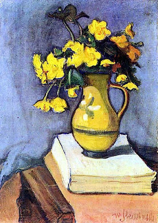 Marsh Marigolds, 1906 Wladyslaw Slewinski