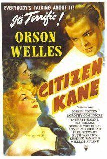 Citizen Kane (1941)  Director: Orson Welles