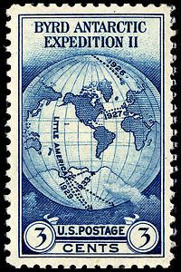 3c Byrd Antarctic Expedition single, 1933