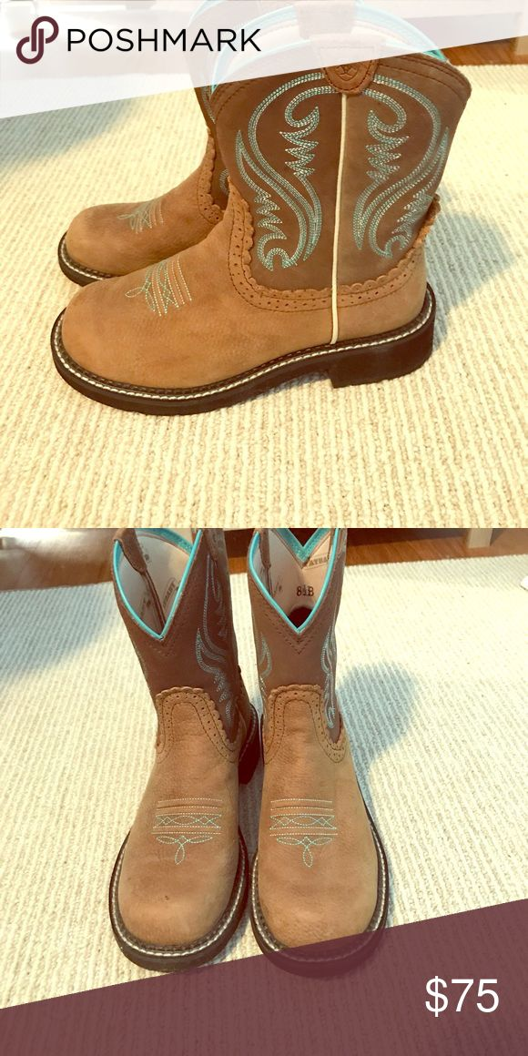 Ariat Fatbaby Boots Womens Size 8.5 B In very good condition we're worn once Ariat Shoes