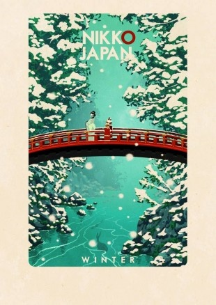 Vintage style travel poster