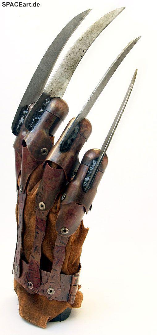 Nightmare on Elm Street 2010: Freddy Krueger Handschuh, Fertig-Modell, http://spaceart.de/produkte/nes018.php
