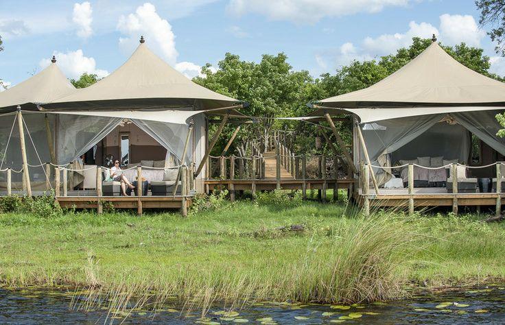 Staying at DumaTau Camp | African Safaris