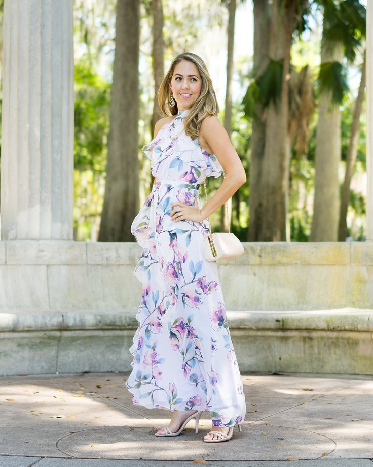 LC Лорен Конрад платье макси