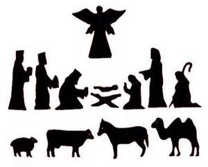christmas manger scene silhouette - Yahoo Image Search Results