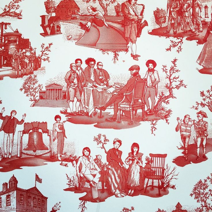 21 Best Toile Wall Paper Images On Pinterest: 52 Best 19. Toile For Christmas Images On Pinterest