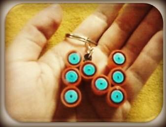 Letter N Key-Chain