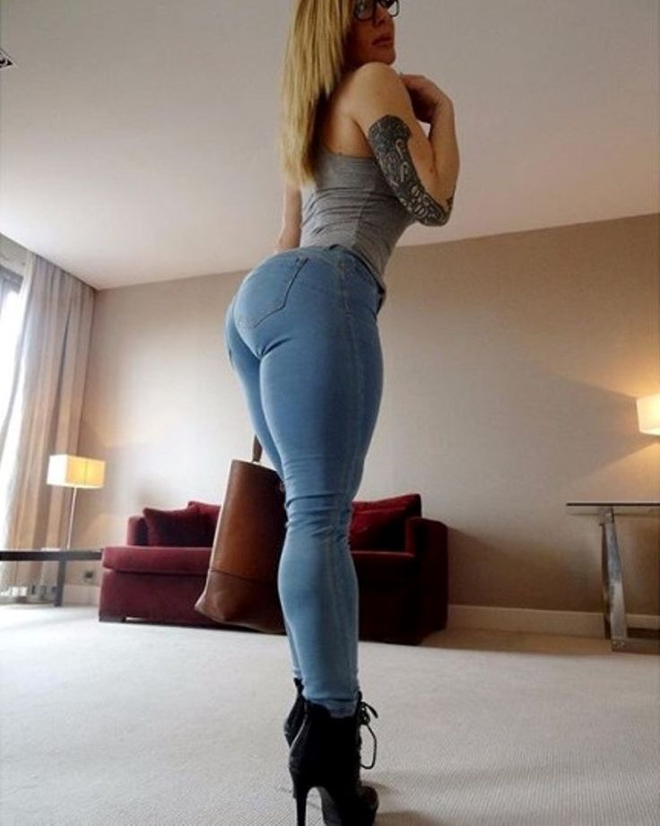Phatasssideview Nice Round Bubble Butt In Tightjeans -8902
