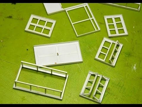 -for modelling : How to make windows and doors| como hacer Ventanas y puertas - YouTube