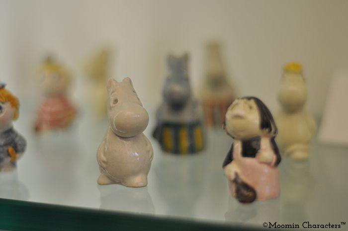 1960s Moomin figures